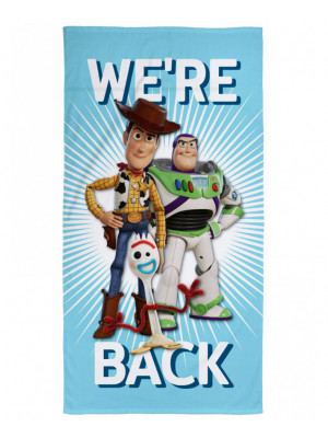 Serviette de bain Toy Story Disney We're Back