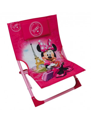 Chaise de plage pliante - Disney - Minnie Mouse