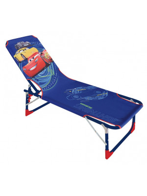 Chaise longue pliante - Disney - Cars