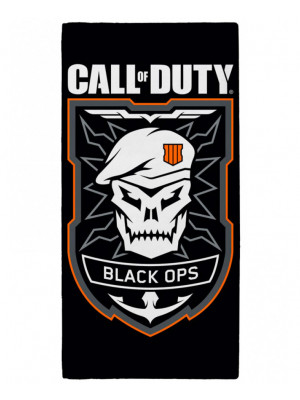 Serviette de bain Call Of Duty Black Ops Emblem