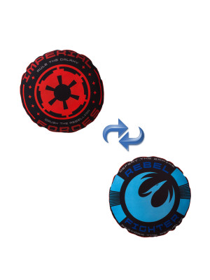 Coussin Insigne Imperial et Rebellion Star Wars Rebels