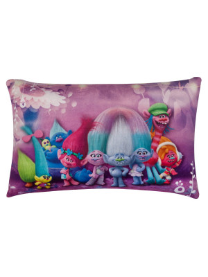 Coussin rectangle Trolls Groupe