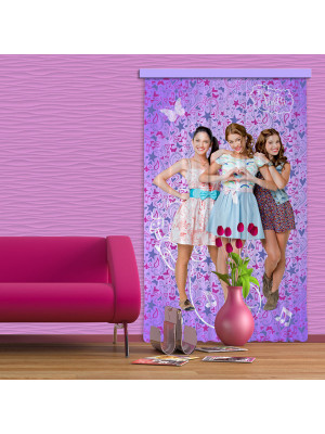 Rideaux Team Violetta Disney Channel-Occultant : 140x245 cm