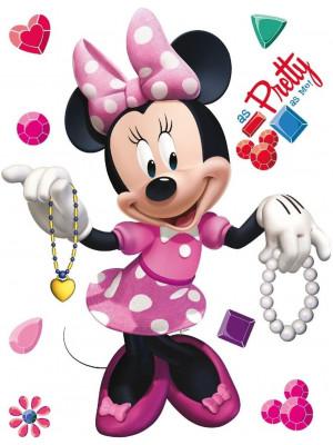 Stickers géant Minnie Disney 42.5 x 65cm