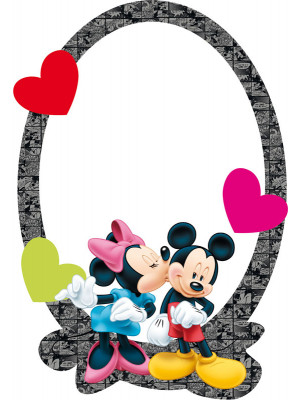 Miroir Disney Mickey et Minnie
