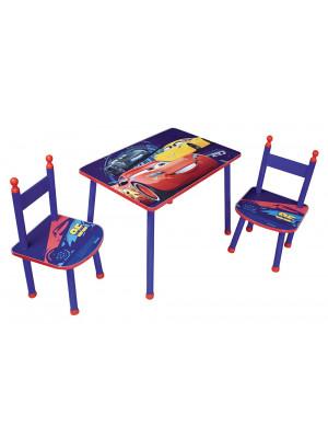 Ensemble table et 2 chaises Cars Disney