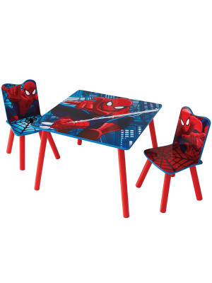 Ensemble table et chaises Spiderman