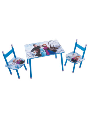 Ensemble table et chaises Reine des Neiges Disney