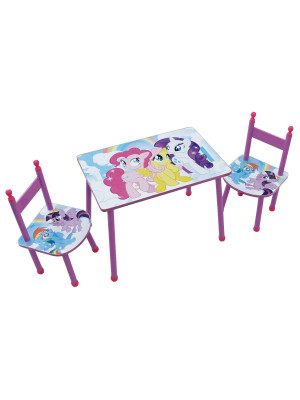 Ensemble table et chaises My Little Pony