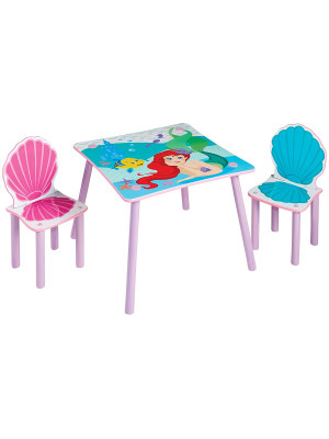 Ensemble table et 2 chaises Princesse Ariel Disney