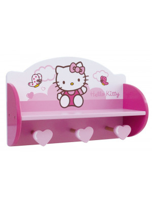 Etagere porte manteau Hello Kitty Sanrio