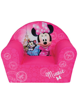 Fauteuil Club mousse Minnie Mouse Paris Disney