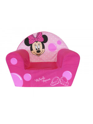 Fauteuil Club mousse Minnie Mouse Disney