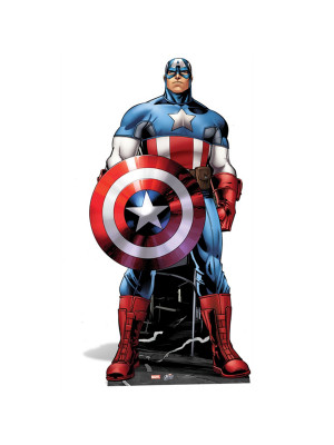 Figurine en carton Captain America Marvel