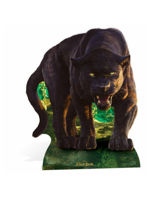 Figurine en carton Bagheera Le Livre de la Jungle Disney H 124 CM
