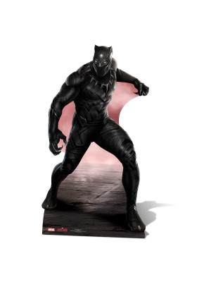Figurine en carton Black Panther Marvel Civil War