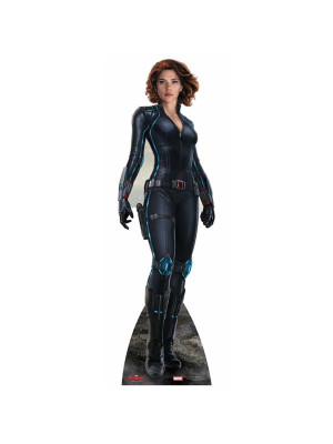 Figurine en carton Black Widow L'ère d'Ultron Avengers Marvel
