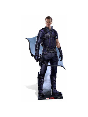 Figurine en carton Hawkeye Marvel Civil War
