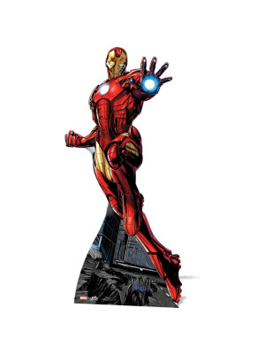 Figurine en carton Iron Man Marvel Comics
