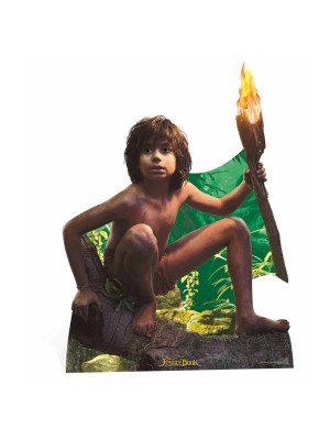 Figurine en carton Mowgli Le Livre de la Jungle Disney H 134 CM