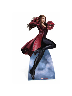 Figurine en carton Scarlet Witch Marvel Civil War