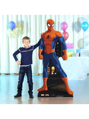 Figurine en carton Spider-man Marvel H 173 CM