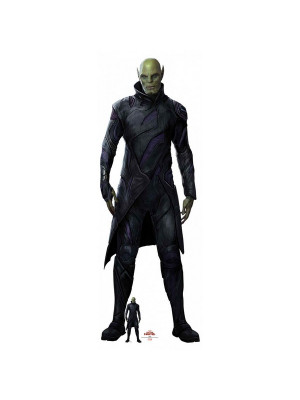 Figurine en carton Captain Marvel Talos Skrull H 194 CM