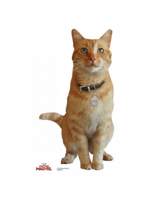 Figurine en carton Goose le chat de Captain Marvel H 40 CM