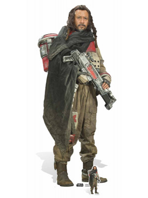 Figurine en carton taille réelle Baze Malbus Star Wars Rogue one H 180 CM