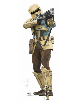Figurine en carton taille réelle Shoretrooper Star Wars Rogue one