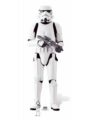 Figurine en carton taille réelle Imperial Stormtrooper Star Wars Rogue one H 180 CM