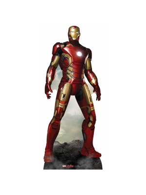 Figurine en carton Iron Man L'ère d'Ultron Avengers Marvel