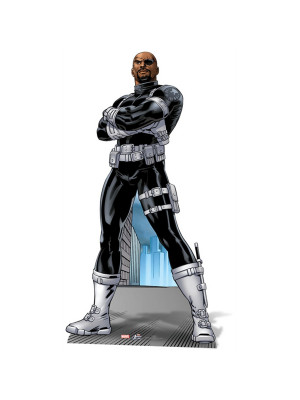 Figurine en carton Nick Fury Marvel H 182 CM
