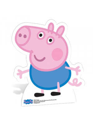 Figurine en carton Georges Peppa Pig