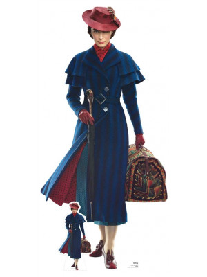 Figurine géante en carton Mary Poppins le retour de Mary Poppins Disney H 187 CM