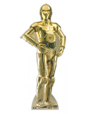 Figurine en Carton C3PO Star Wars
