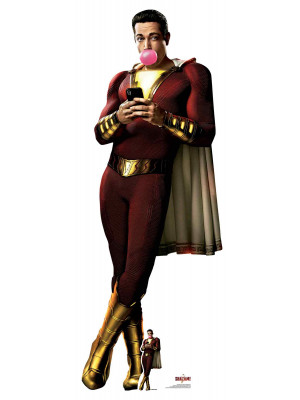 Figurine en carton Shazam Bubble Gum DC Comics H 190 CM
