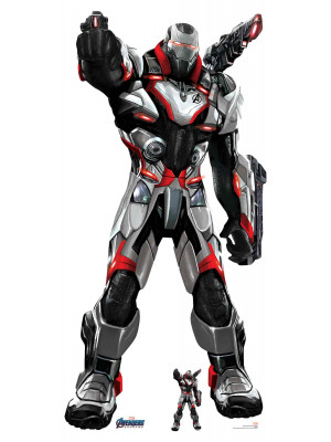 Figurine en carton War Machine Marvel Avengers Endgame H 193 CM