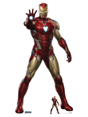 Figurine en carton Iron Man Marvel Endgame H 185 CM