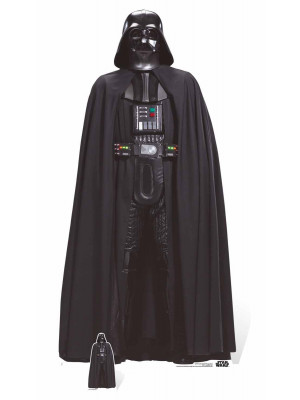Figurine en carton taille réelle Darth Vader Star Wars Rogue one H 194 CM