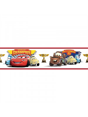 Frise repositionnable Champion Cars Disney