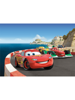 Poster géant Cars Europe Disney 255X180 CM