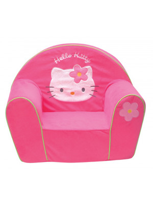 Fauteuil Club Polyvelours Hello Kitty
