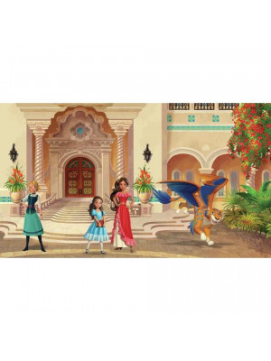 Papier peint Panoramique Surestrip (pose sans colle) Princesse Elena d'Avalor Disney 320X182 CM