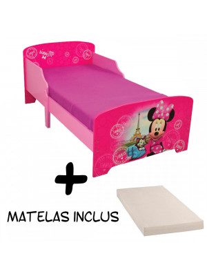 Lit enfant Minnie Mouse Disney Paris + Matelas