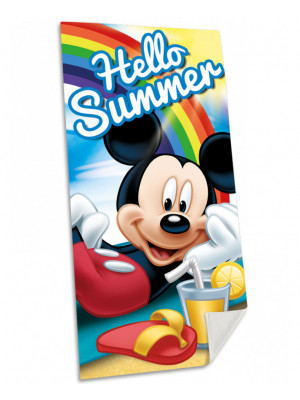 Serviette de bain Mickey Summer Disney