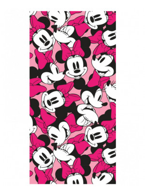 Serviette de bain Minnie Squad Disney