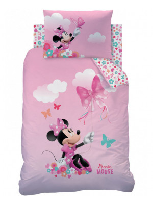 Parure de lit junior Disney Minnie Mouse Papillon