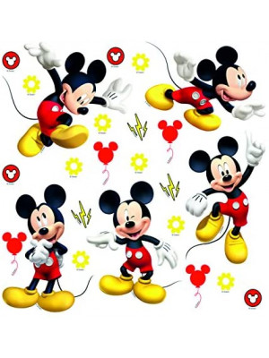 Minis Stickers Mickey Disney - 30 CM x 30 CM