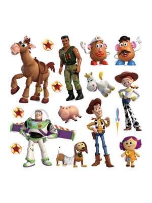 Minis Stickers Disney - Toy Story 4 -  30 CM x 30 CM